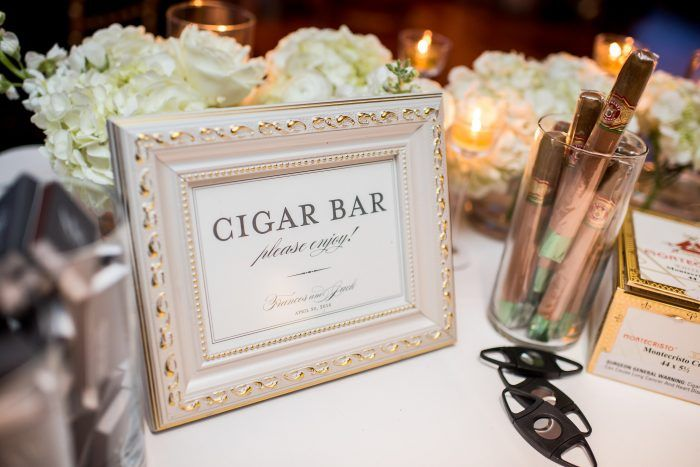 cigar bar sign, wedding signs, from white and blue sequoia dc ...