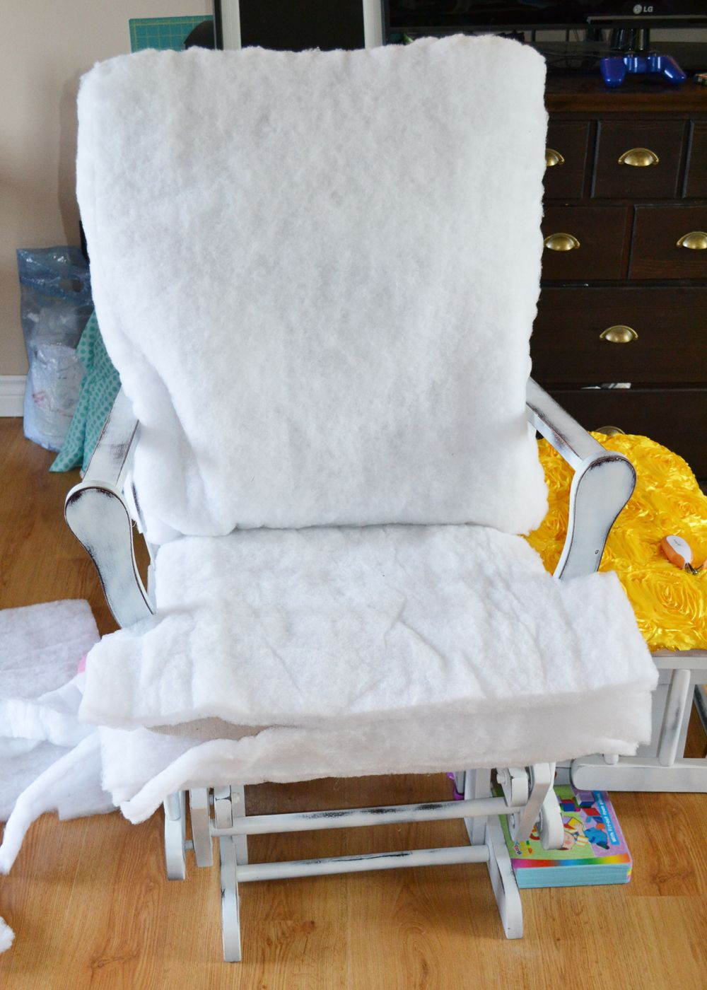 diy update nursery the chairs glider mommy chair a rocking by