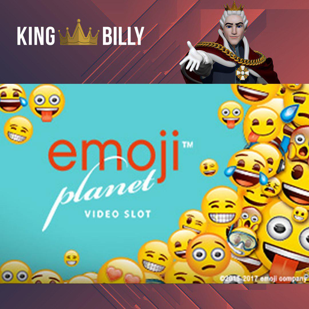 King Billy Casino Invites To Play Emoji Planet Slot Online