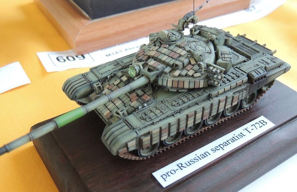 World War 2 Soviet Tank T72 WW2 Painting Artwork Paint By Numbers Kit DIY