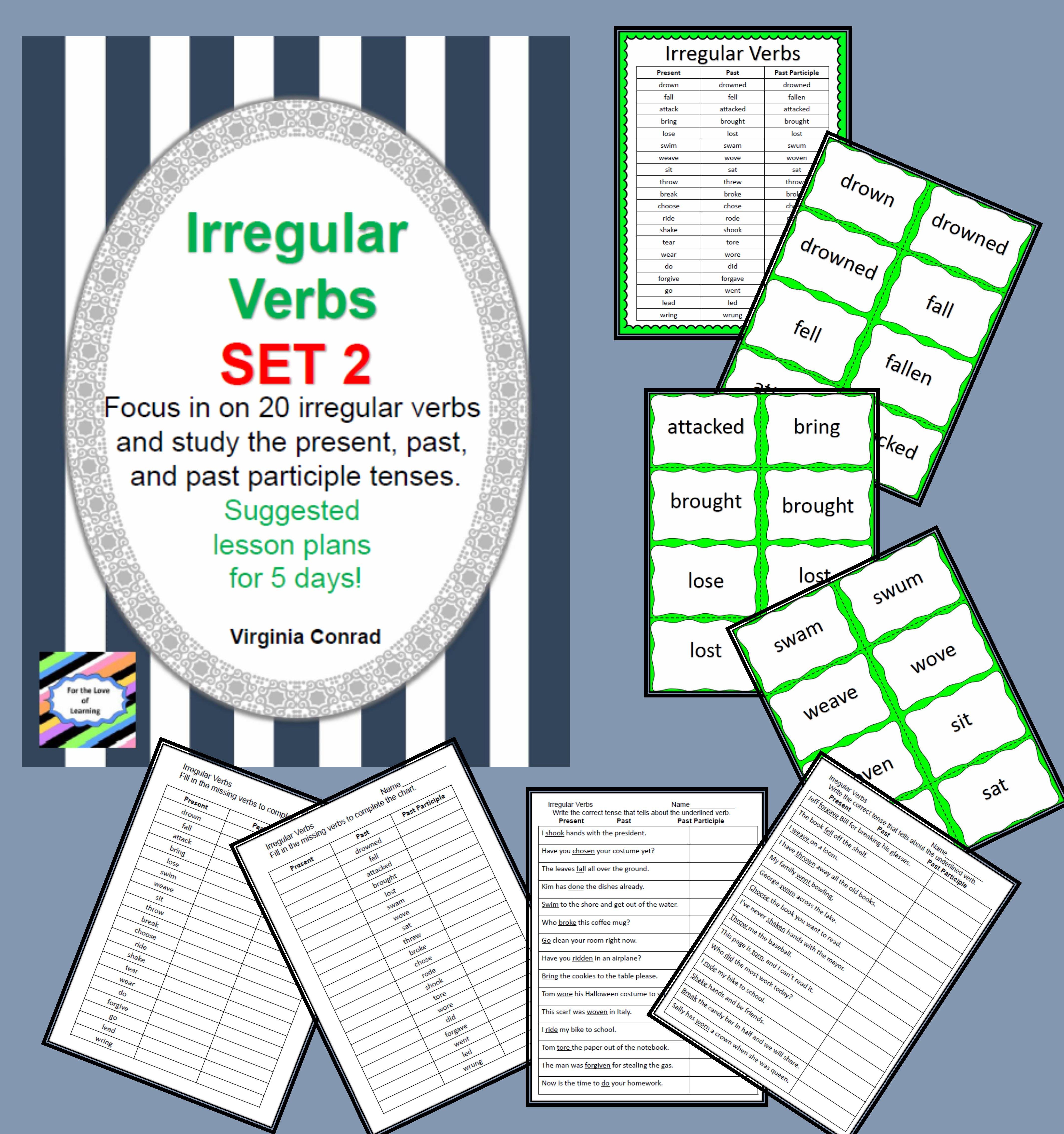 Irregular Verbs Set 2
