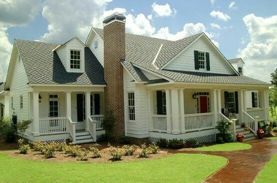 Almost Like An Attached Guest House Or Mother In Law House His Mom In One Side Mine On The Ot House Plans Farmhouse Cottage House Plans Southern House Plans