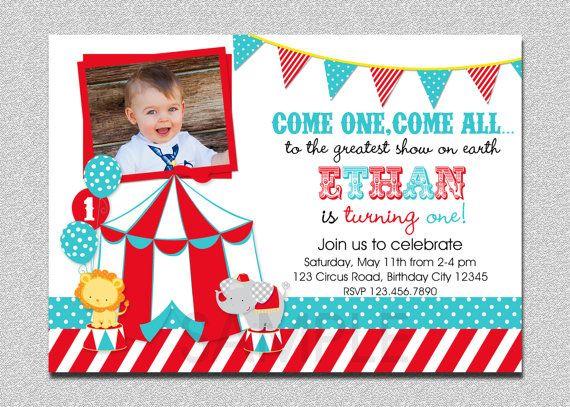 Pin On Invitaciones De Circo