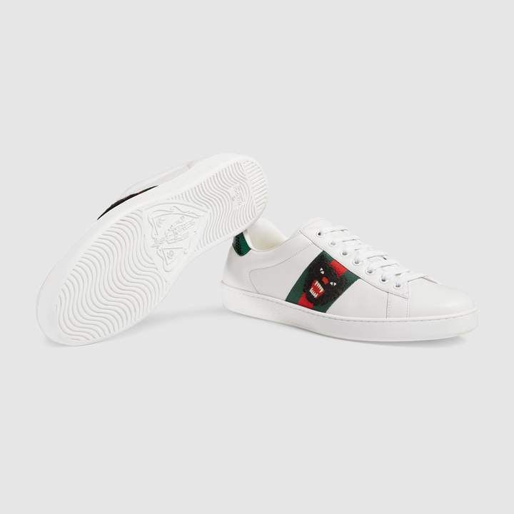 d4966dd7a9d3d Gucci Ace embroidered sneaker