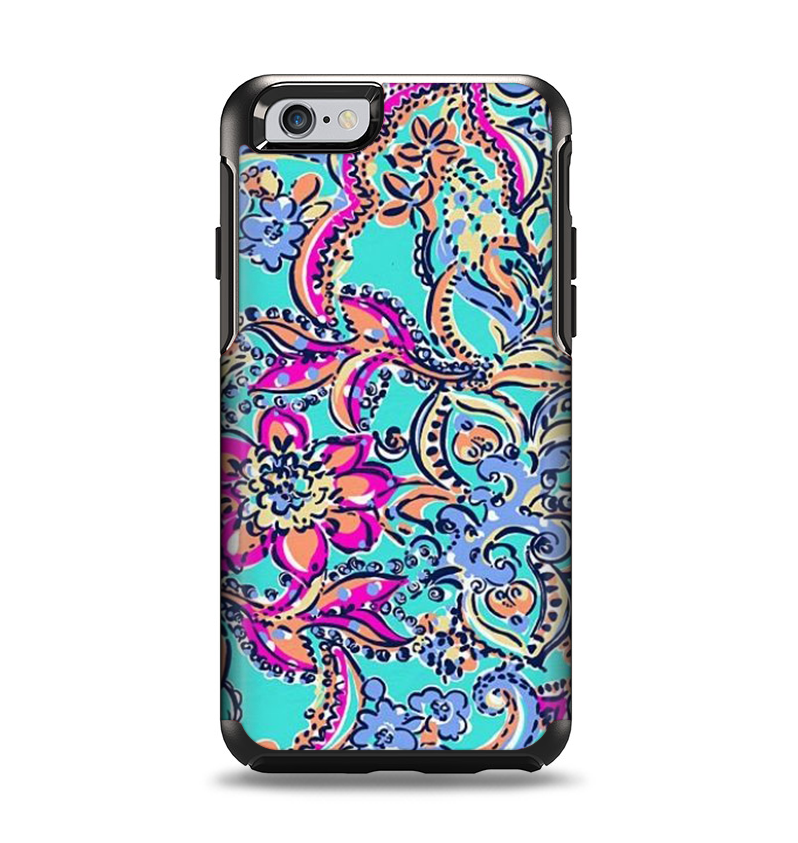 Decorative Otter Boxes The Bright Watercolor Floral Apple Iphone 6 Otterbox Symmetry Case