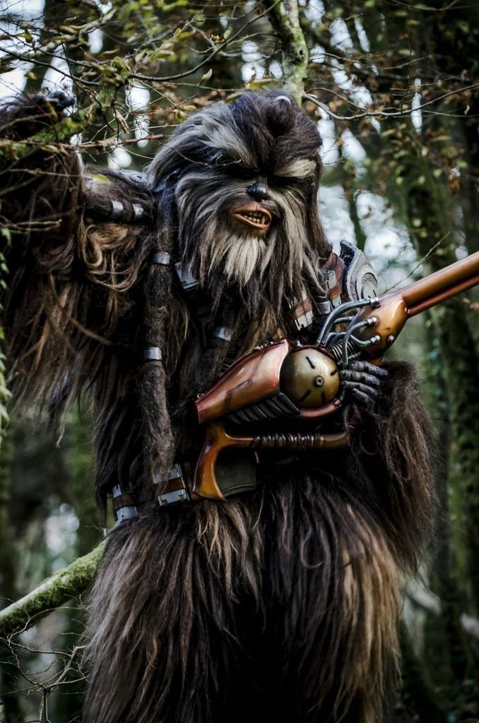 Tarfful The Wookie Costume Build On Pinterest Ammo