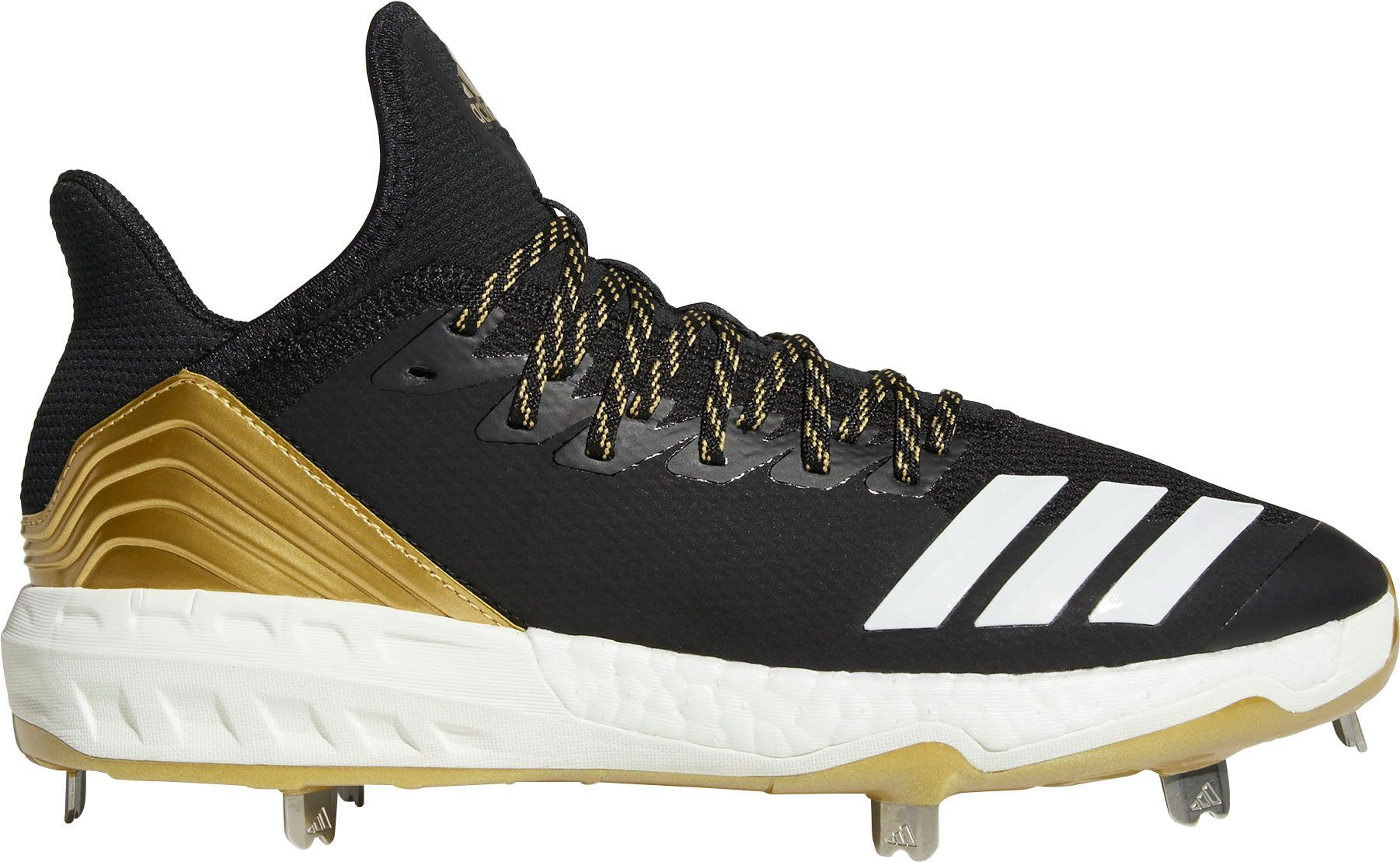 low priced 076b2 9bf97 adidas Mens Icon 4 Metal Baseball Cleats, Size 9.0, Black