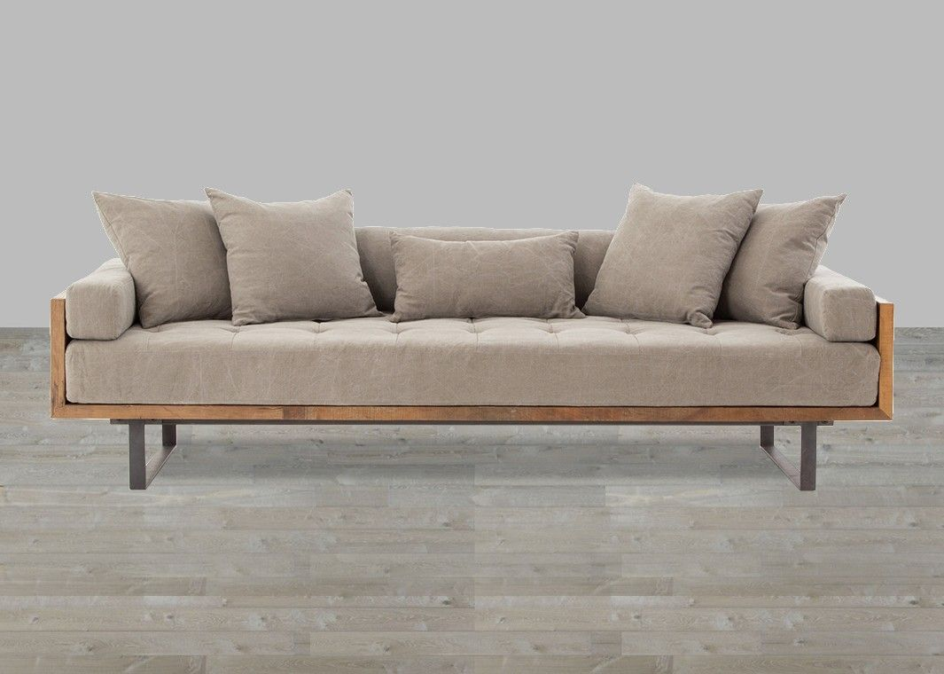 Stonewash Twill Stone Fabric Sofa Diy Sofa Sofa Design Furniture