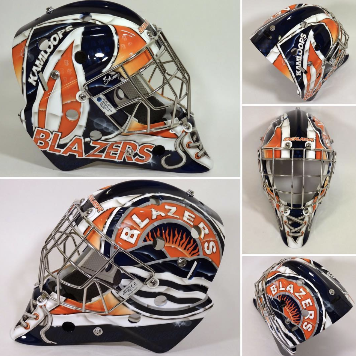 Goalie Mask Painting Ideas Inspiration Goalie Coaches Mask Painting Goalie Mask Goalie