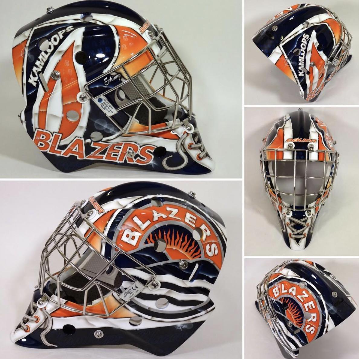 Goalie Mask Painting Ideas Inspiration Goalie Coaches Mask Painting Goalie Mask Goalie