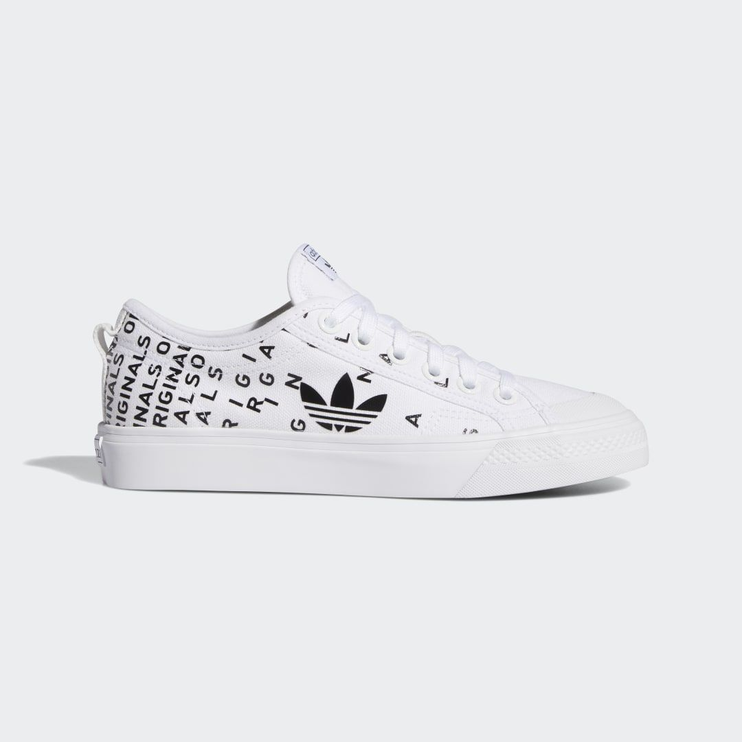 chaussures adidas nizza blanche