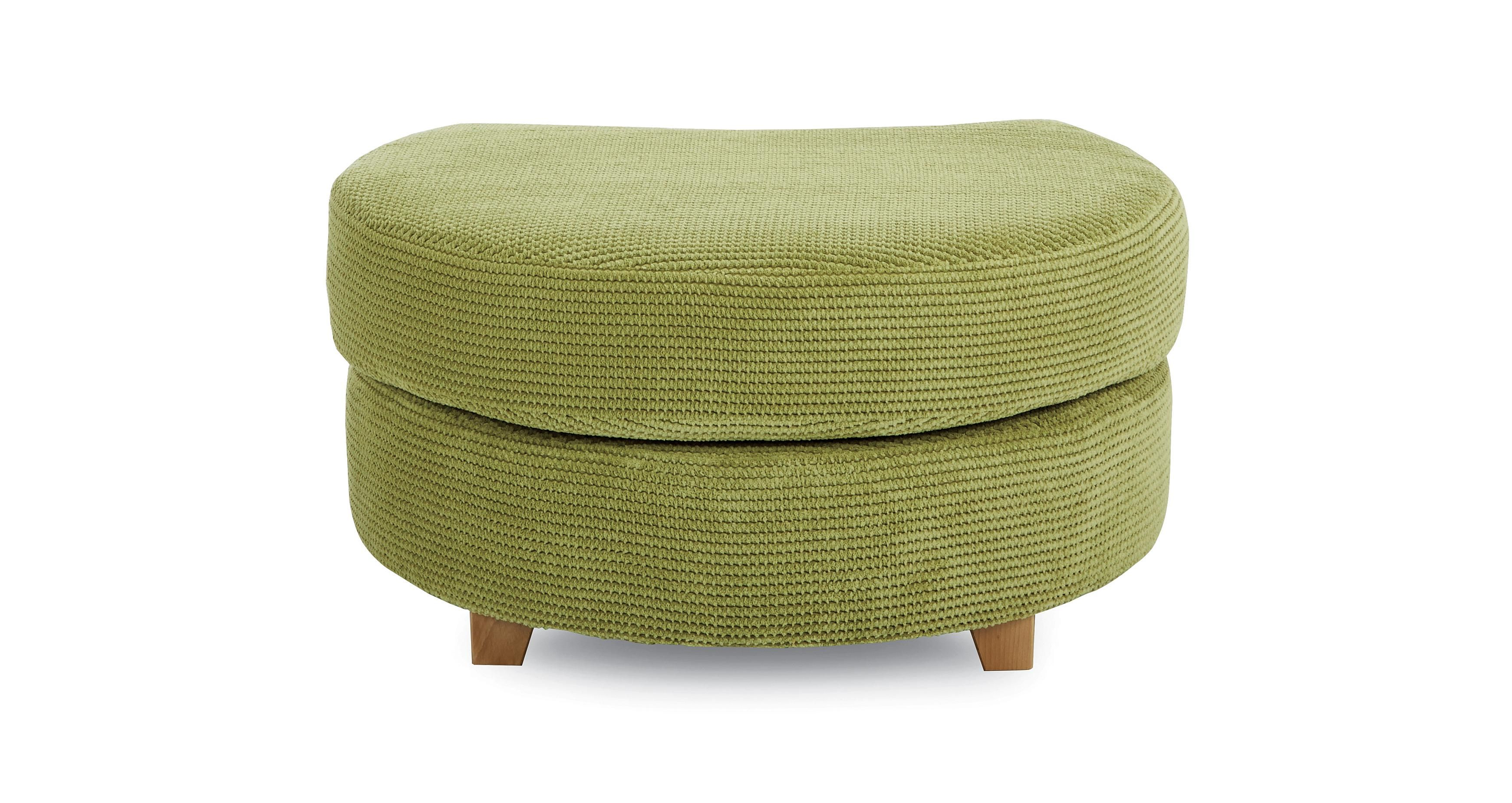 Dfs Half Moon Footstool Shaldon In 2020 Storage Footstool 3