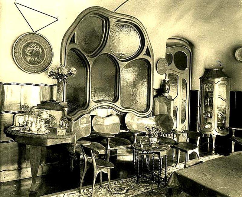 antigua interiorof casa batllo