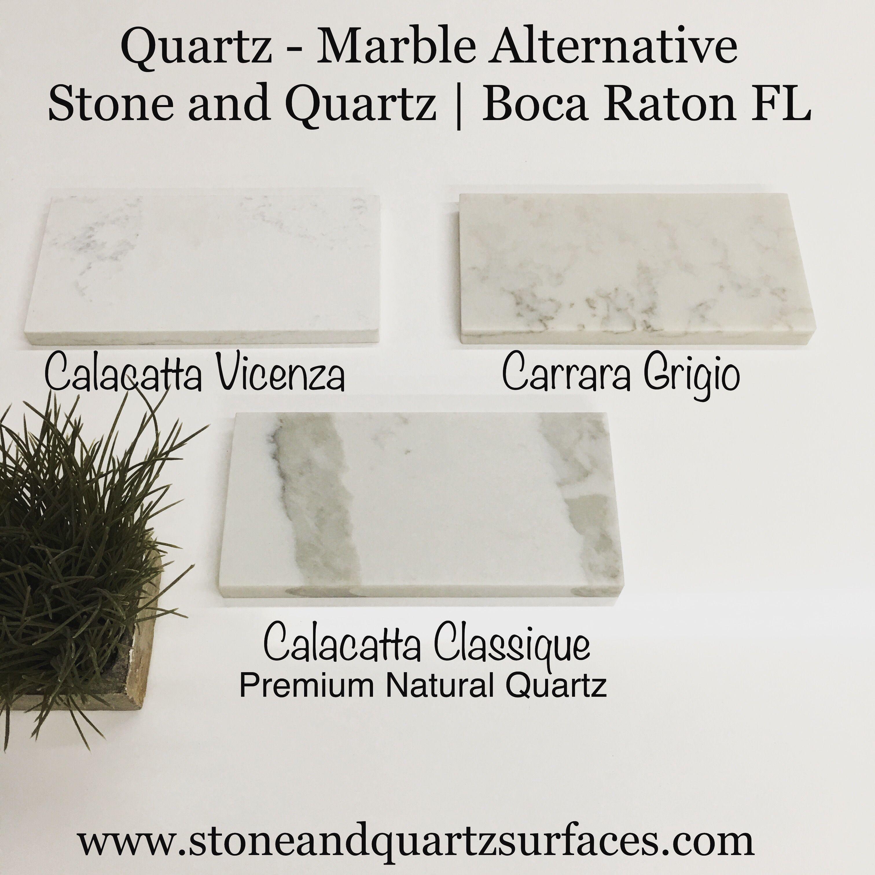 Calacatta Classique Quartz Countertops / Marble Alternative Stone ...