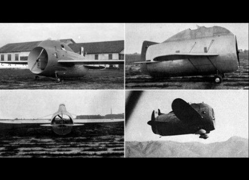 On a du mal à croire que ces avions ont existés! | SnapMonde | Page 17 Stipa Caproni  Cet engin qui a l'air tout droit sorti d'un dessin animé est un avion italien de 1932! On dirait qu'il dispose uniquement d'une hélice, mais il vole très bien!