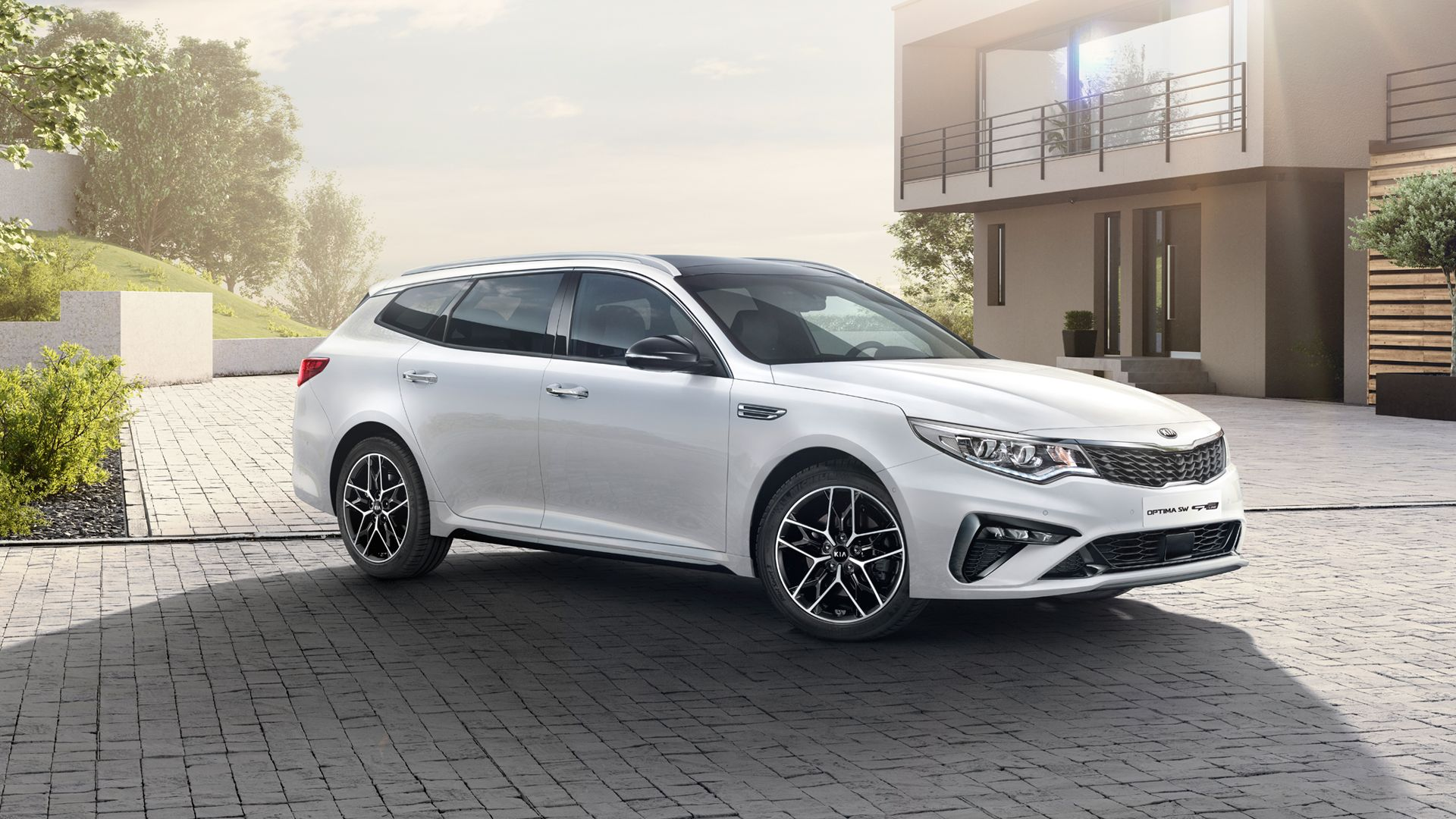 Kia Gives The Optima Sportswagon A Revitalizing New Look And Fresh Power For The Geneva Motor Show Top Speed Kia Optima Kia Geneva Motor Show