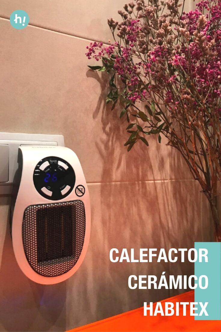 Calefactor cerámico Habitex A prueba | Calefactores ...