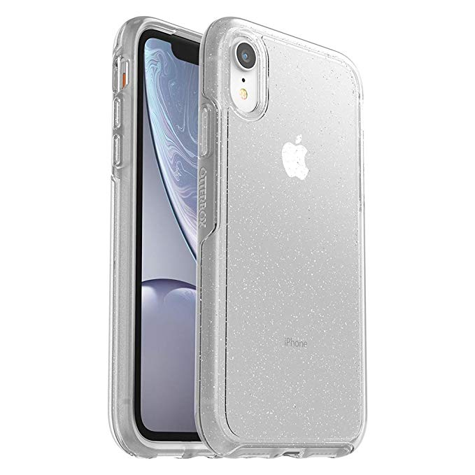 Amazon Com Otterbox Symmetry Clear Series Case For Iphone Xr Retail Packaging Stardust Silver Flake Clear Iphone Iphone Cases Iphone Phone Cases