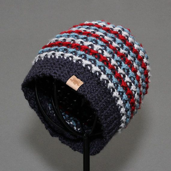 Crochet Hat PATTERN Brookside Beanie Crochet Hat Pattern Includes 7 ...