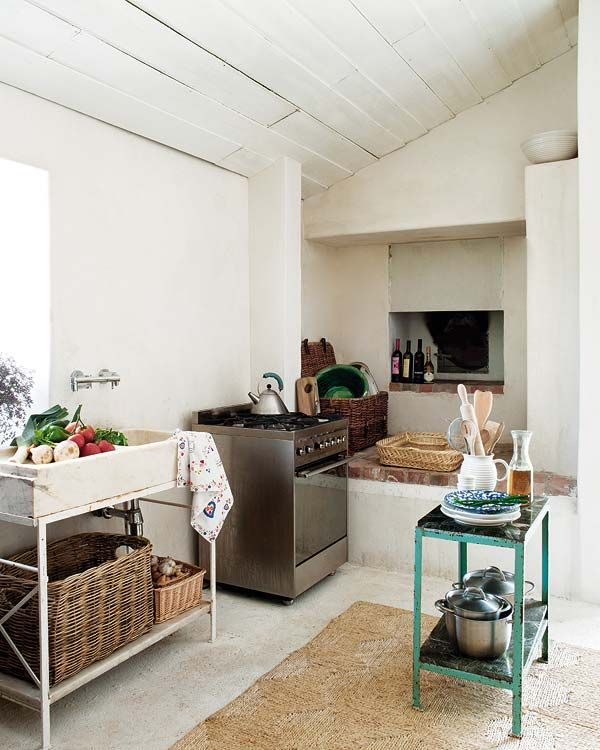 A stunning rustic holiday home in Portugal   Kitchens, Cottage ...
