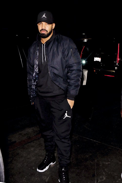 size 40 e3c43 2333e celebritiesofcolor  Drake at The Nice Guy in WeHo