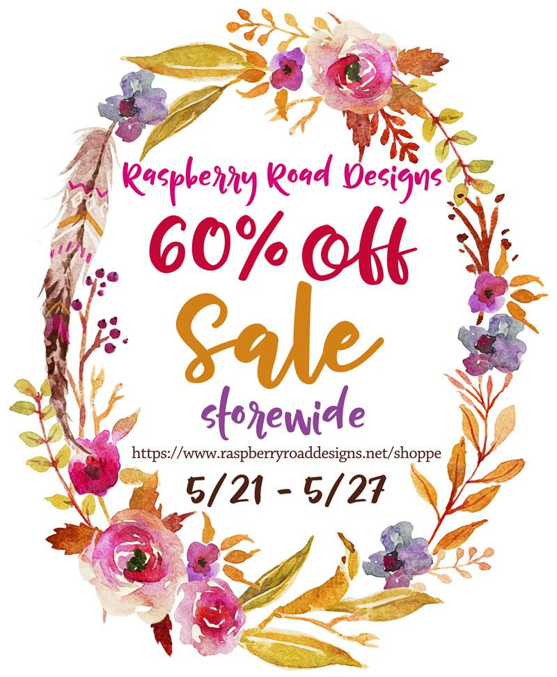 Huge Sale Road Design Raspberry Journal Cards