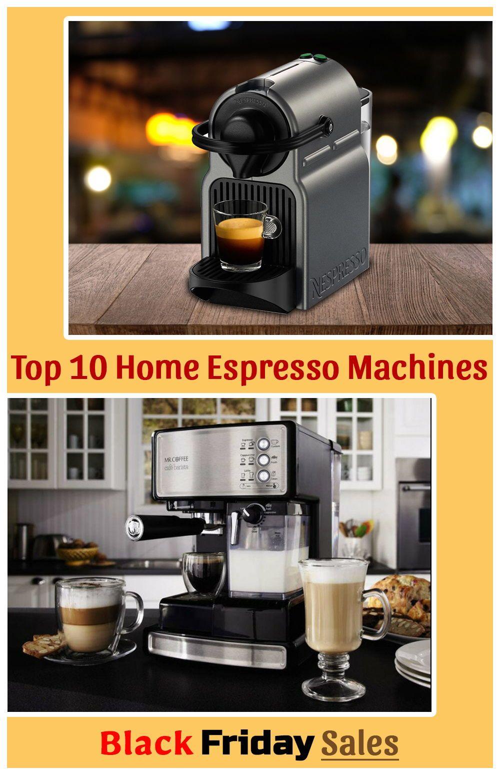 Top 10 Home Espresso Machines June 2020 Reviews Buyers Guide Home Espresso Machine Best Home Espresso Machine Espresso