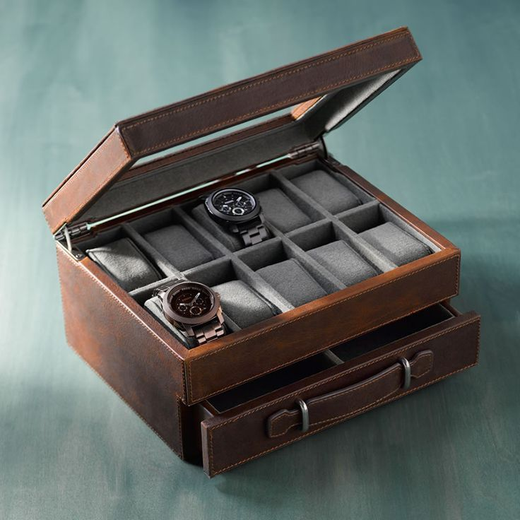 Watch Box From Fossil Watch Box Steel Watches Second Hand Watches Stainless Steel Watches Sponsored Https Boite A Montre Montre Pas Cher Coffret Bijoux