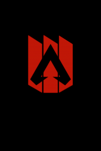 Download Apex Legends Logo In Red And Black Wallpaper Red And Black Wallpaper Black Wallpaper Mini Canvas Art