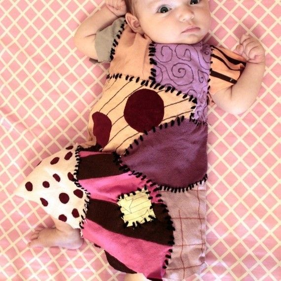 2014 Halloween nightmare before Christmas costume for baby - Sally ...