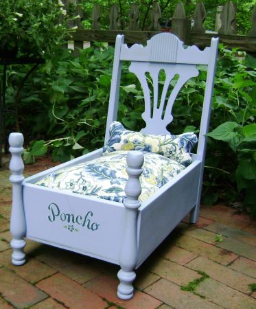 Admirable Antique Chair Made Into A Dog Bed Dog Bed Dog House Bed Forskolin Free Trial Chair Design Images Forskolin Free Trialorg