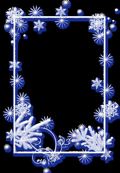 Large Winter Transparent Christmas Ice Photo Frame Ice Photo Frame Christmas Frames