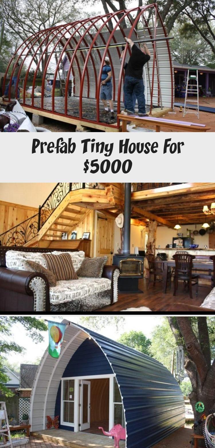 Prefab Tiny House For 5000 Cozy Homes Life