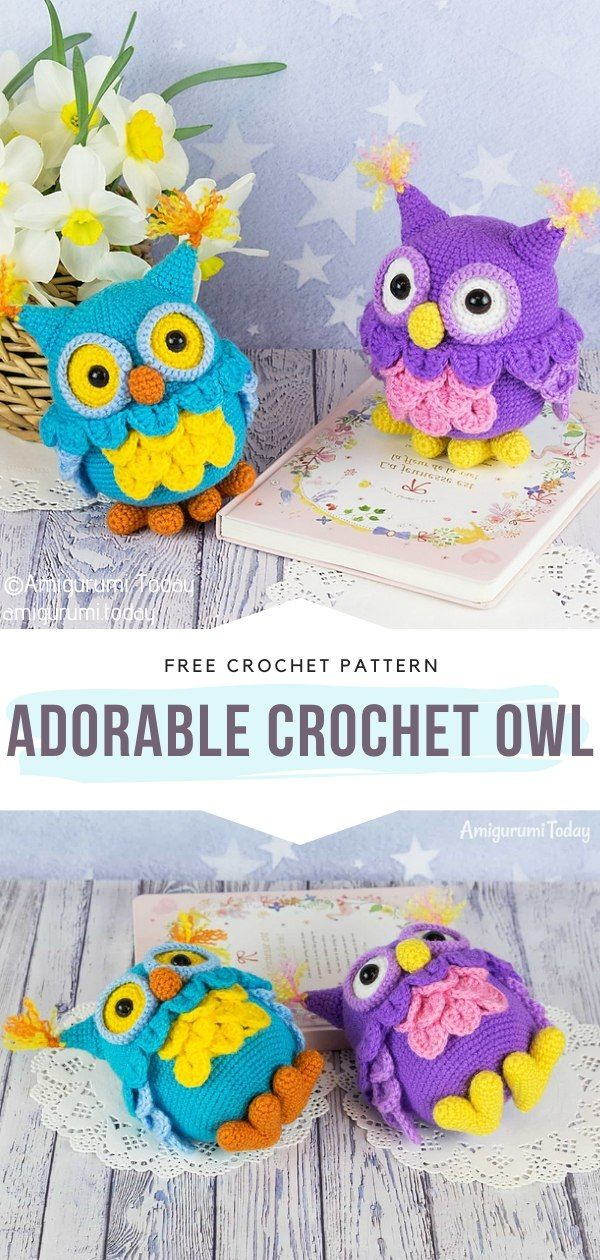 How to Crochet Adorable Owl