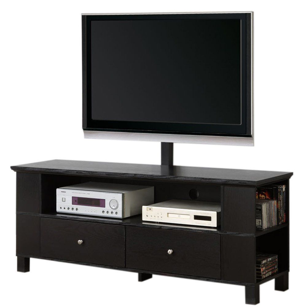 Statue of cool flat screen tv stands with mount furniture walker edison 60 class black wood tv stand with storage and mount sciox Image collections