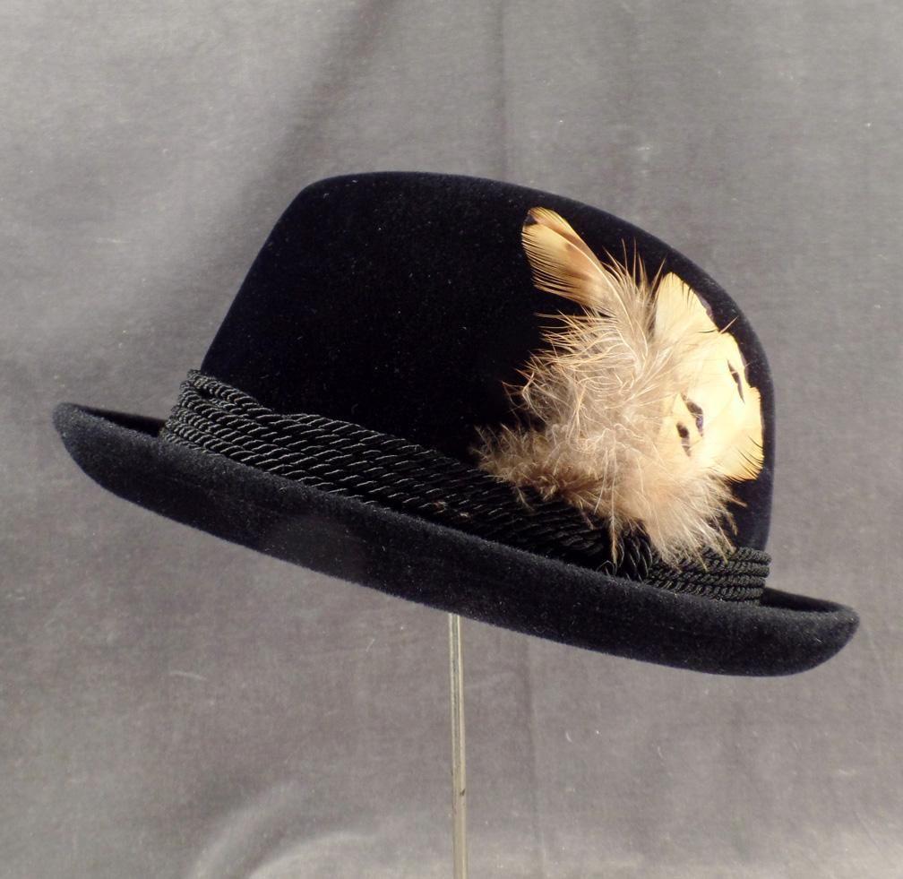 0f24618c6078c5 Gentleman's Vintage, Black Stetson, Royal De Luxe Fedora Hat ...