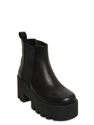 Windsor 80MM ALIEN LEATHER ANKLE BOOTS
