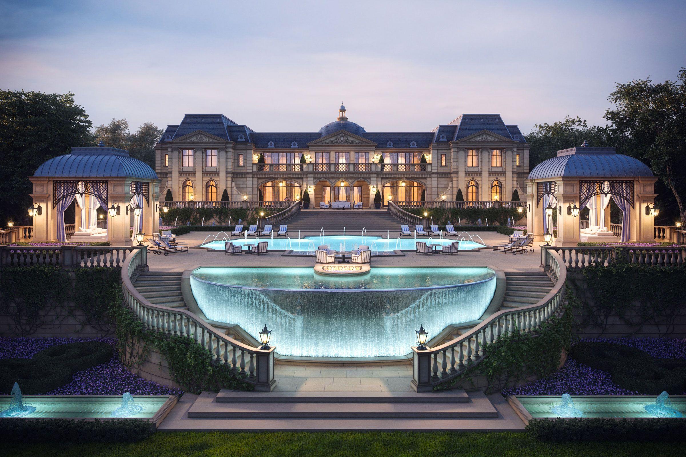Private development 3d architecture for Dream house 3d