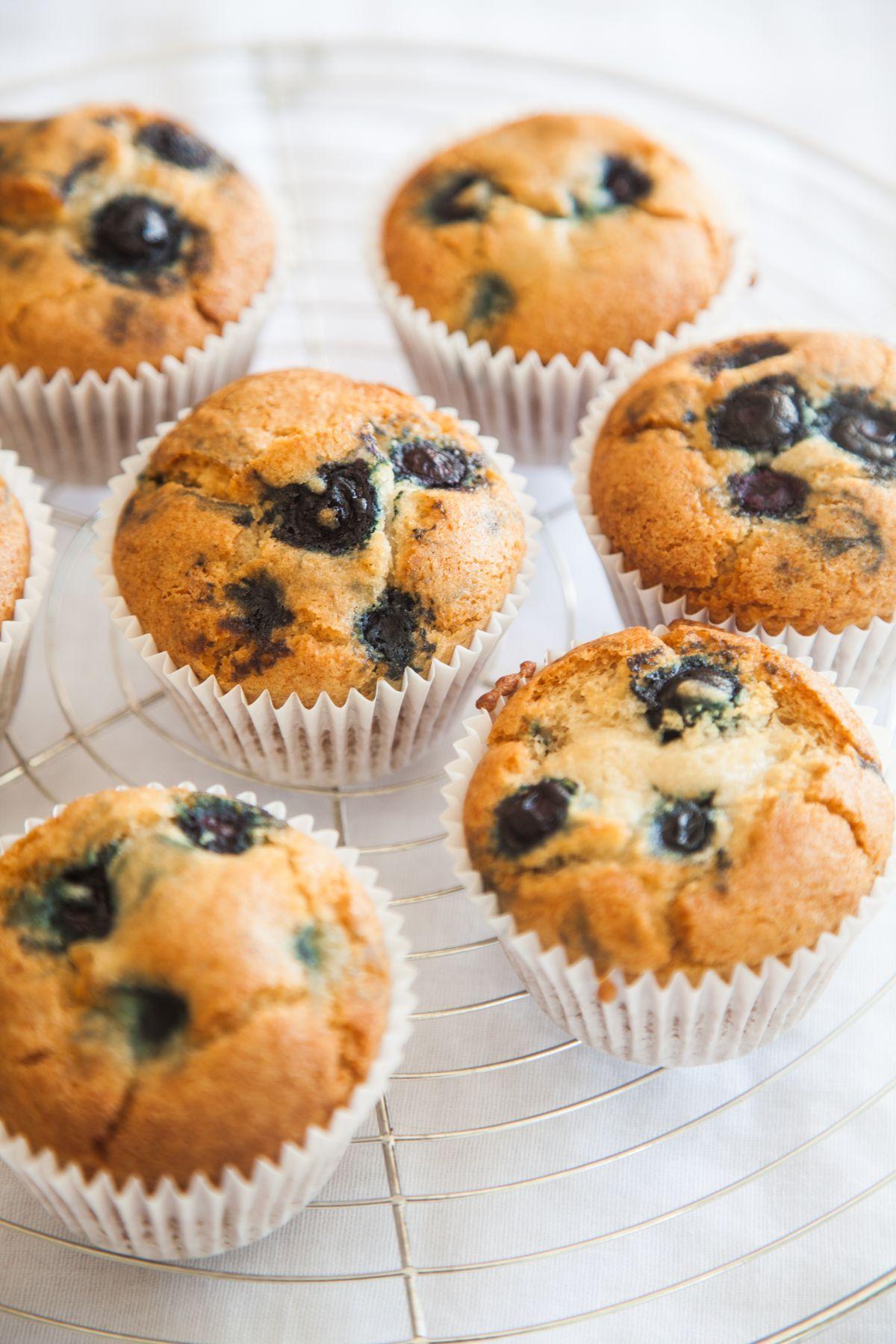 Gluten Free Vegan Blueberry Muffins Recipe Gluten Free