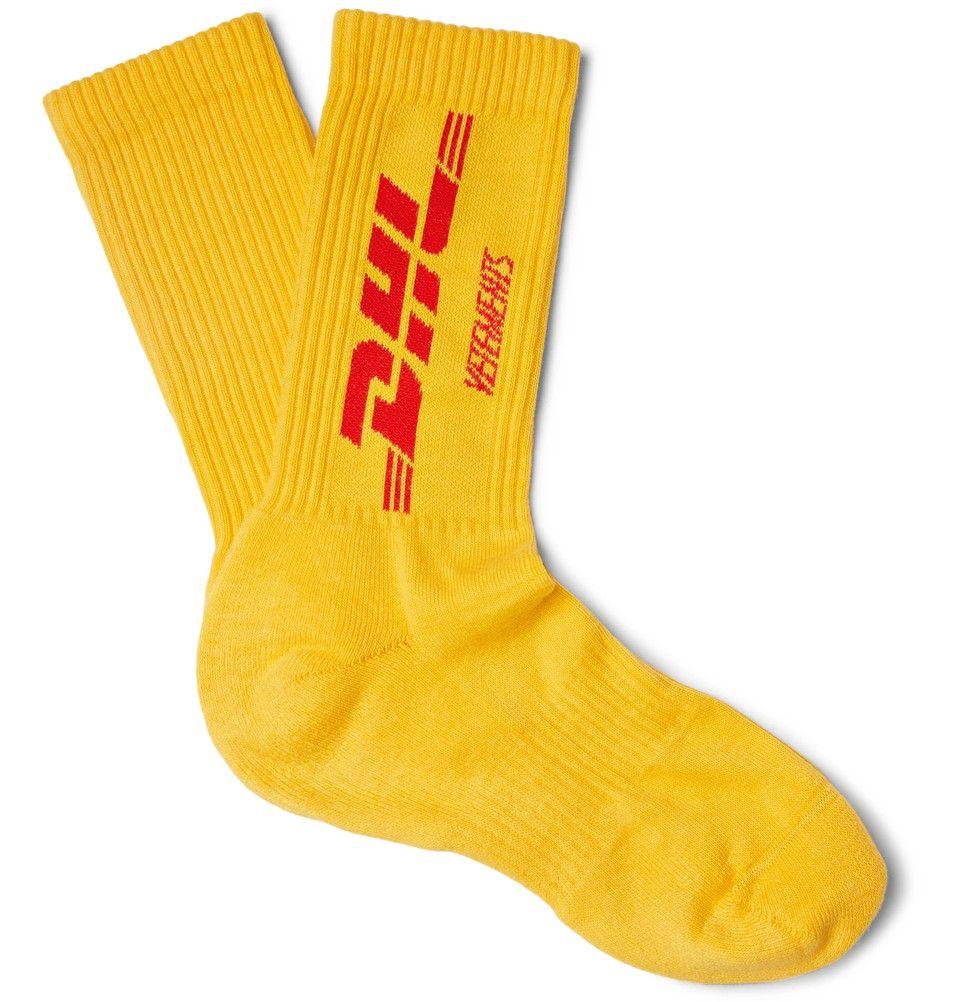 Vetements DHL Socks isiqq6K0