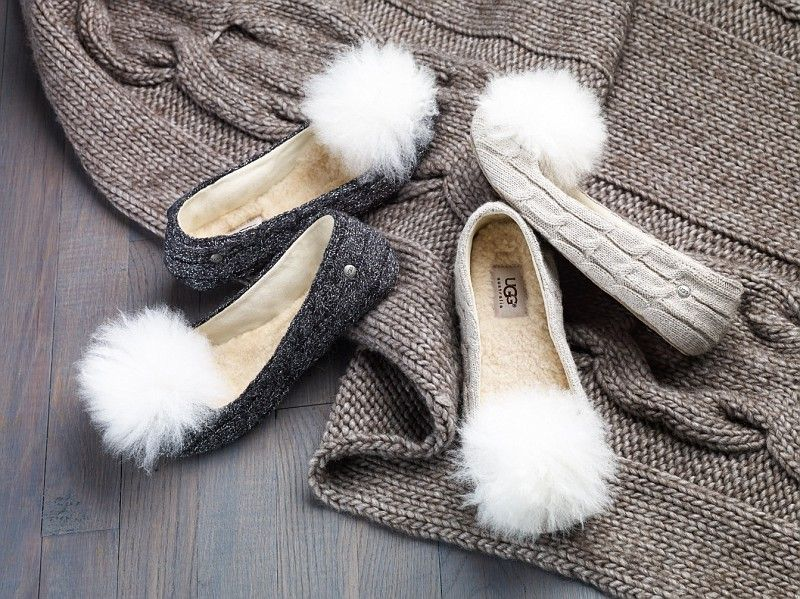 d27adef5c92 UGG Australia's knite ballet slippers. What a perfect gift ...