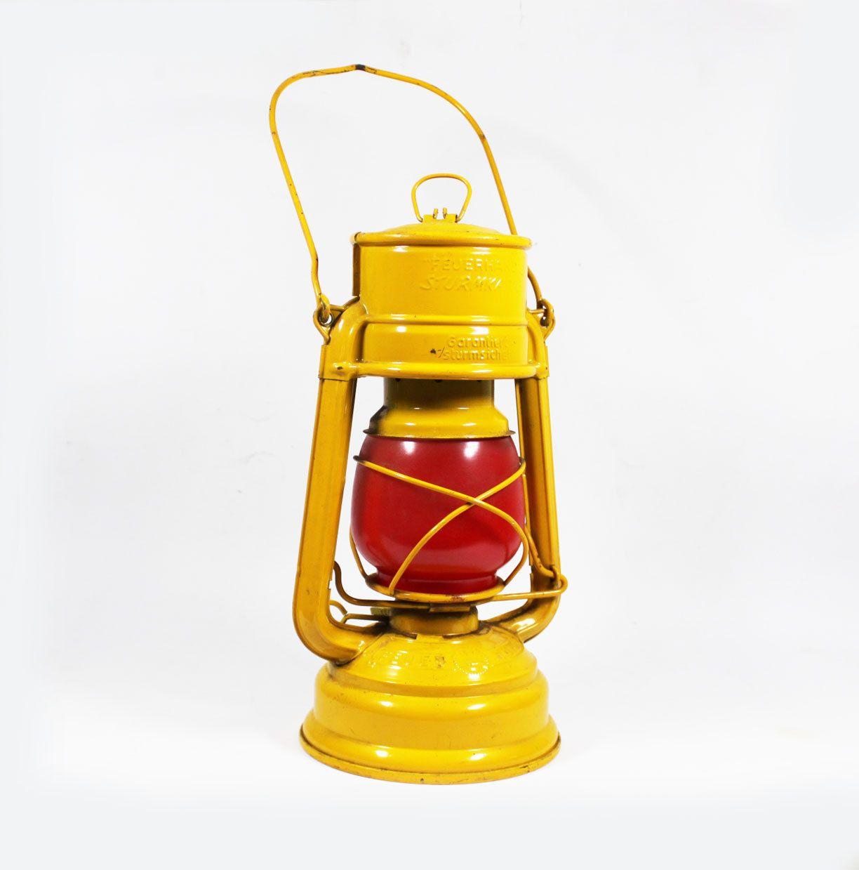 Vintage 1950s Yellow Kerosene Lantern By Bmtvintage On Etsy 35 00 Lanterns Vintage Antiques