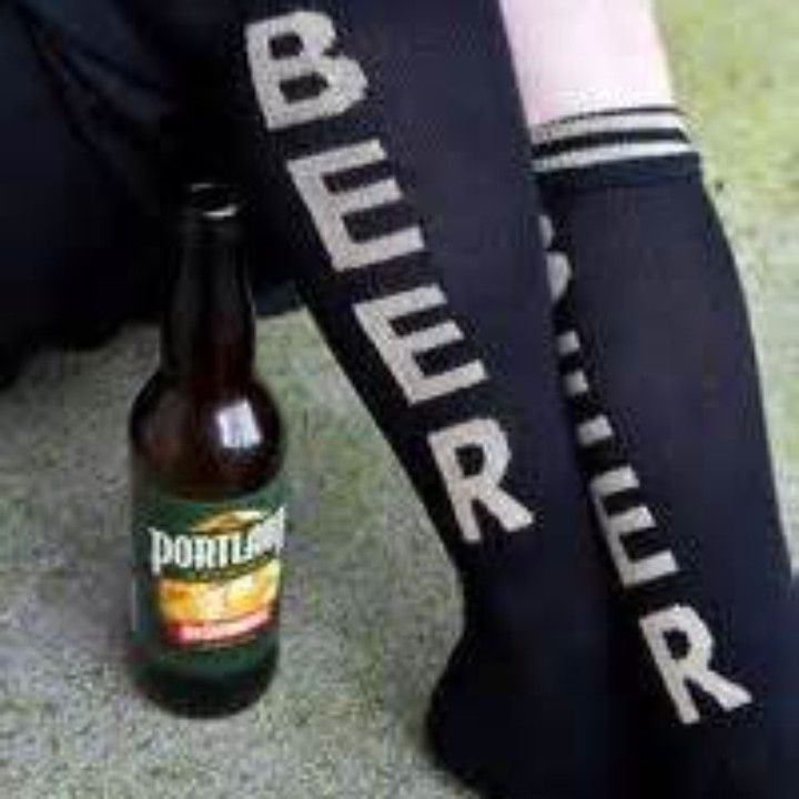 Black Beer Socks from On After Creations for $10.00