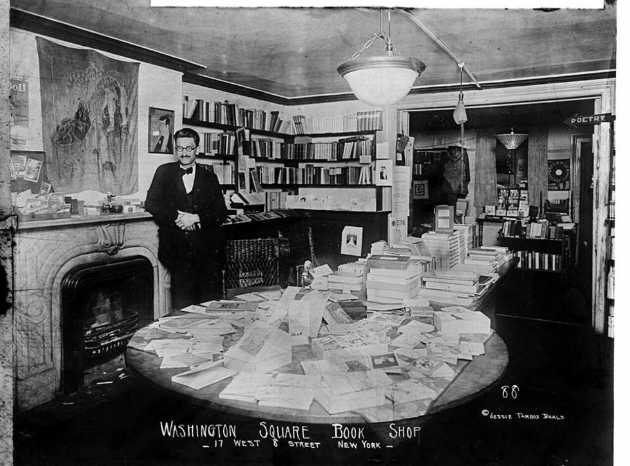 1918 17 w 8th st washington square book shop egmont