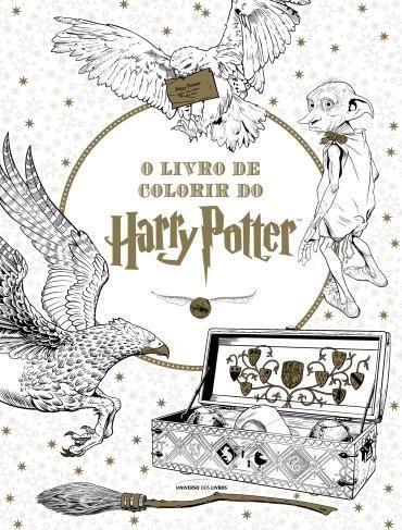 O Livro De Colorir Do Harry Potter Presentes Harry Potter Livro