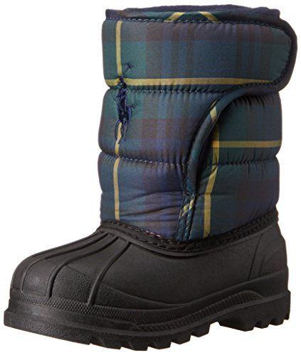012247f07 cool Polo Ralph Lauren Kids Hamilten EZ Winter Boot