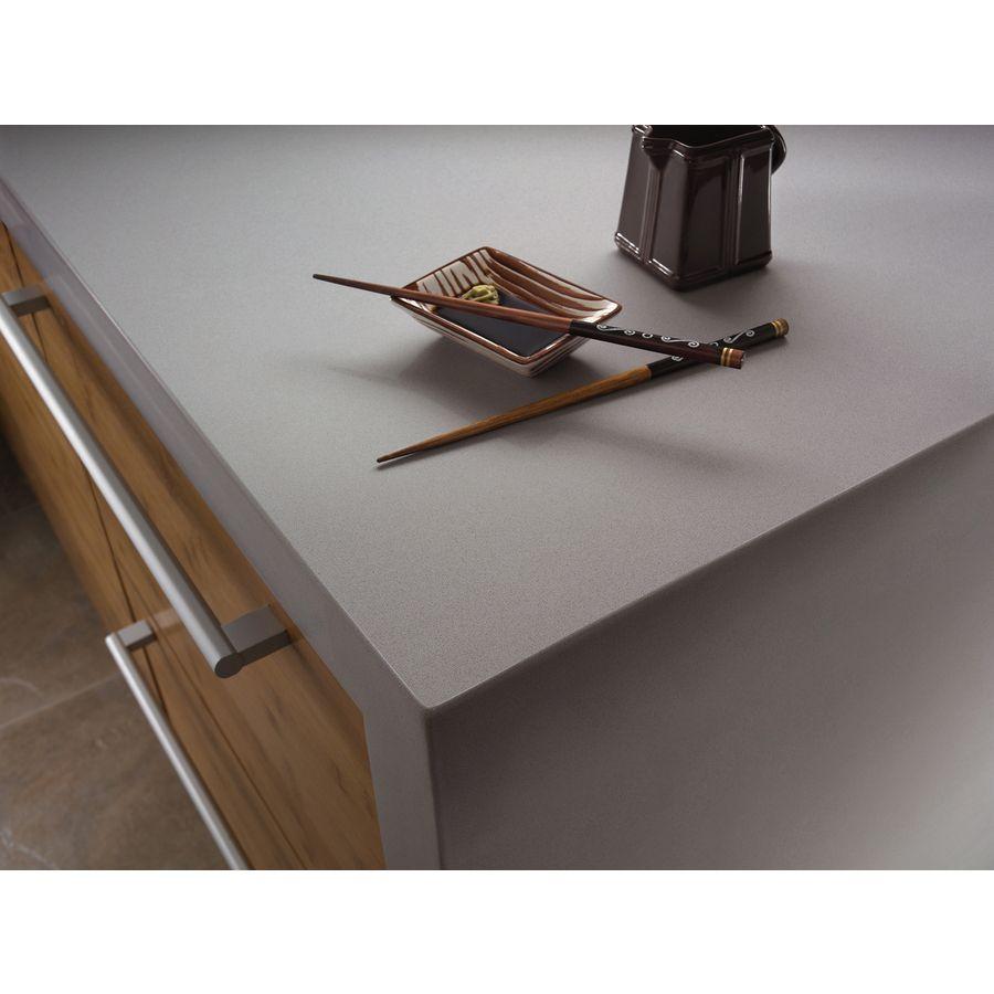Shop Silestone Kensho Quartz Kitchen Countertop Sample at Lowes.com ...