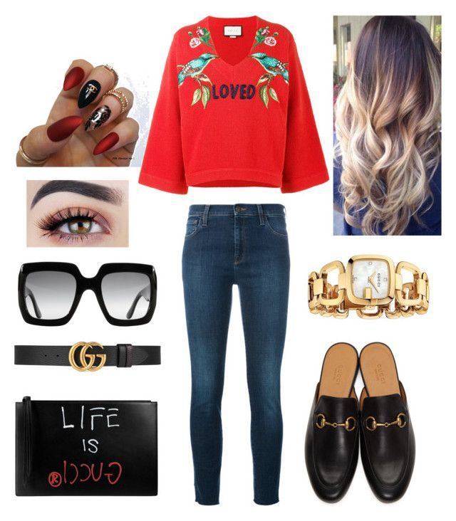 """""""Gucci everything"""" by maryamemara ❤ liked on Polyvore featuring Gucci"""