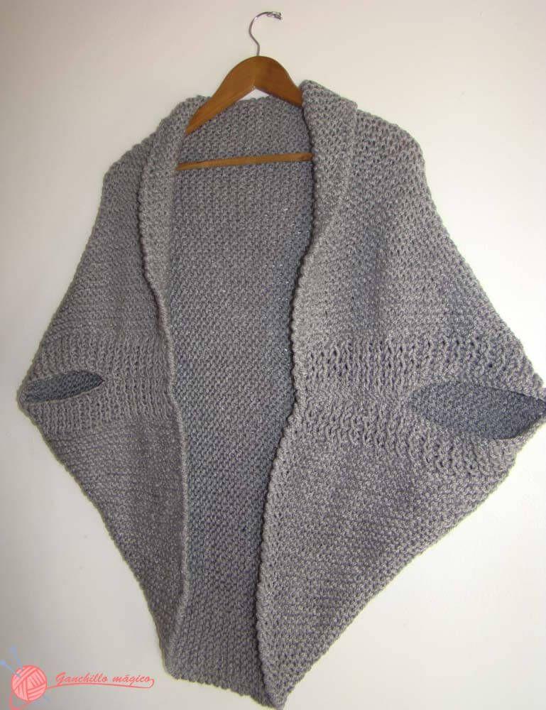chaqueta kimono (4) de punto … | Pinteres…
