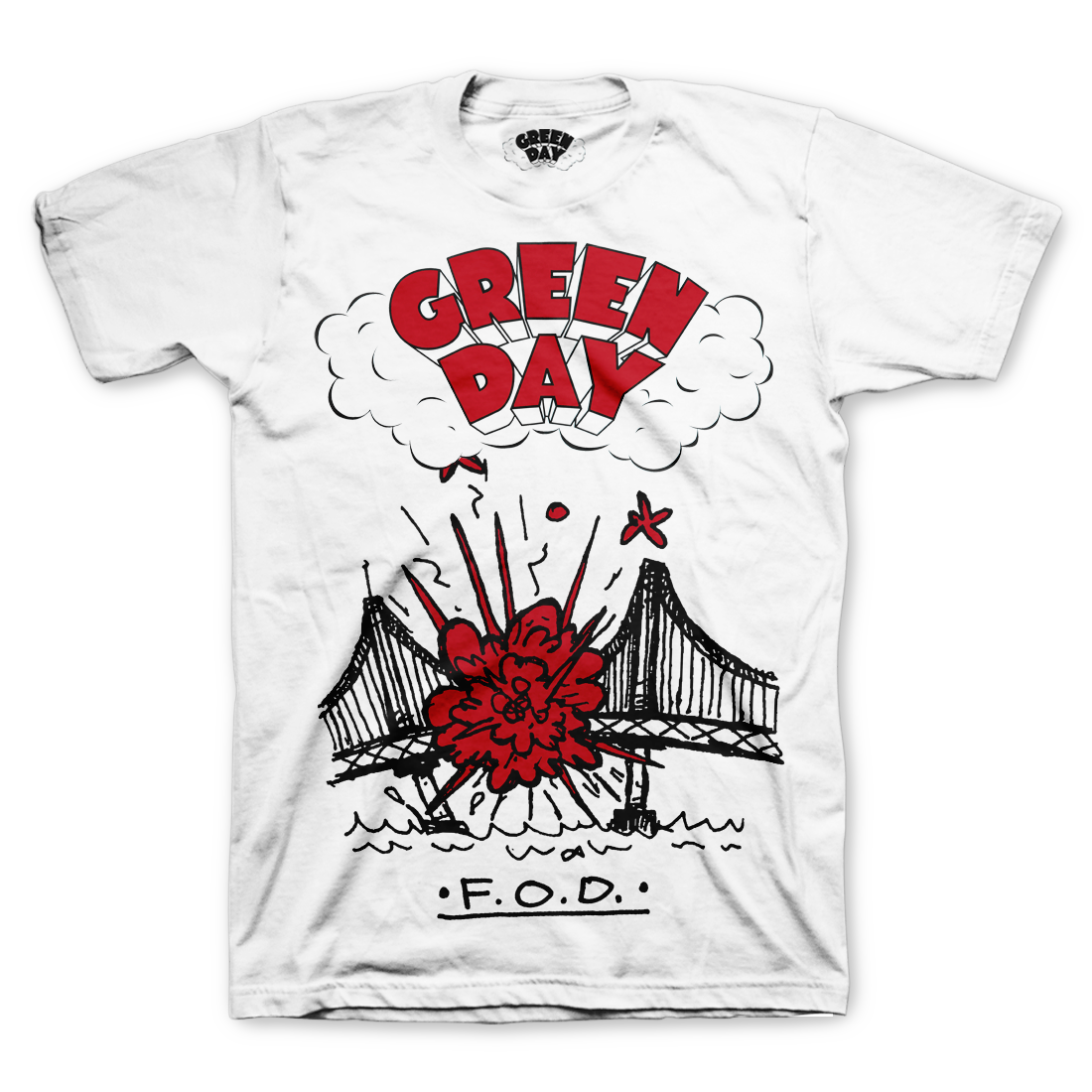 15e320f3c3e4 F.O.D. T-Shirt – Green Day Store